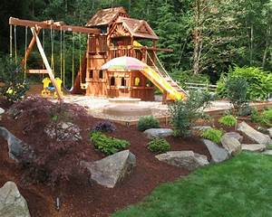 Playground Landscaping Home Design Ideas, Pictures