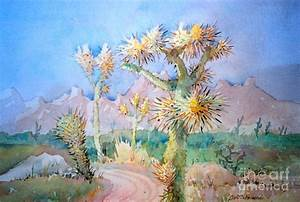 Desert Cactus Painting by Scott Persons