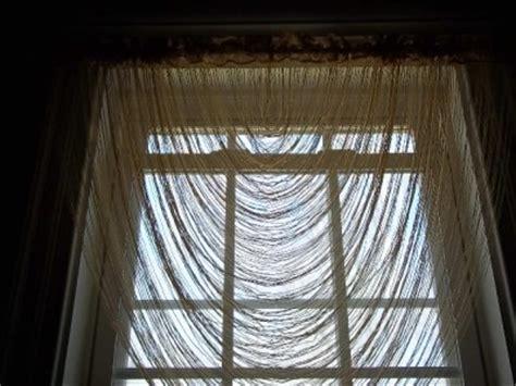 Cascade Valance by Gold Lace Fringe Cascade Valance Swag Window Treatment