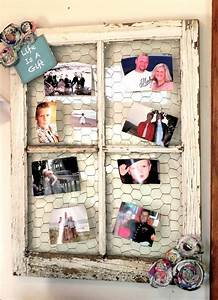 Our Prairie Home  Diy    Barn Window Picture Display