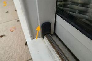 changer les roulettes dune porte coulissante de veranda With porte fenetre coulissante pour veranda