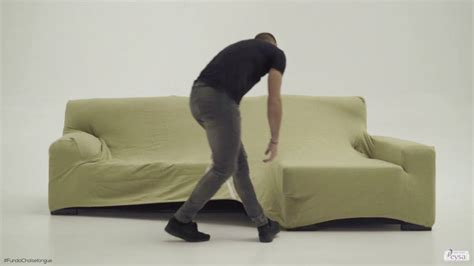 Cómo Montar Una Funda Sofa Chaise Longue Youtube