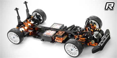 xray tf  fwd touring car kit red rc