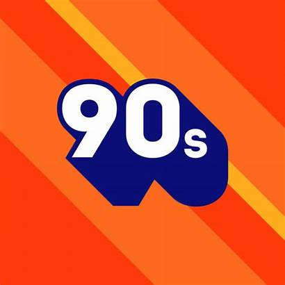 Number 90 Vector 90s Icon Clip 1990s