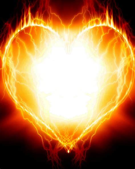 hd wallpapers  fire heart wallpapers