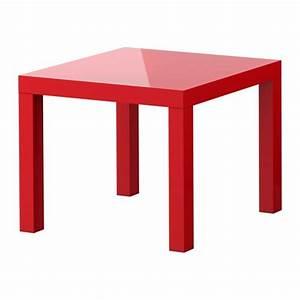 Lack Tavolino - Lucido Rosso