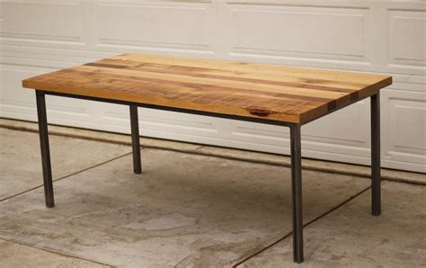 wood steel dining table rectangular reclaimed wood dining table with metal legs of