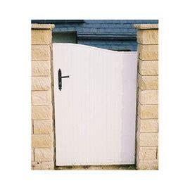 portillon pvc largeur  cm portail barriere bois atsplus
