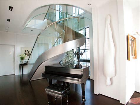 Escadas Modernas De Aço