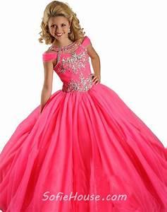 Hot Pink Party Dresses For Girls - Eligent Prom Dresses