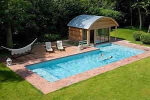 piscine en l exterieure pour le plaisir piscine jardin With exemple de piscine exterieur