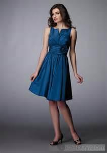 tidebuy wedding dresses chic a line knee length empire waistline formal evening