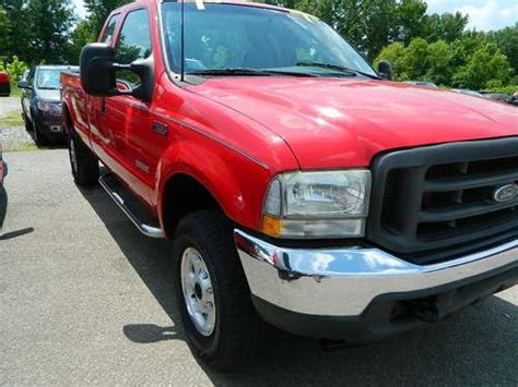 Purchase Used 2003 Red F-350 Xl Extended Cab Long Wheel