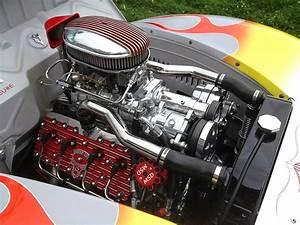 Supercharged Flathead V8
