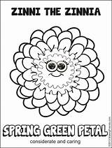 Daisy Coloring Scout Pages Spring Sheets Petal Law Printables Daisies sketch template