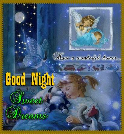Night Wonderful Card Goodnight Cards Greetings Greeting