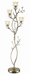 floor lamps luxury and lamps on pinterest With 7 flower metal floor lamp