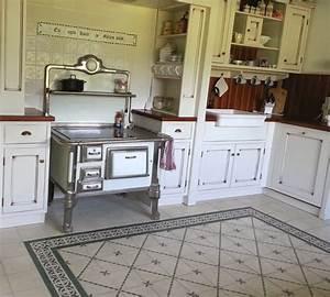 Küche Vintage Style : casa 1 zementfliesen ~ A.2002-acura-tl-radio.info Haus und Dekorationen