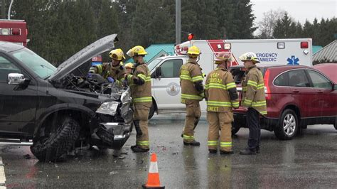 Multi Vehicle Accident Lougheed Hwy & Oxford St. Port