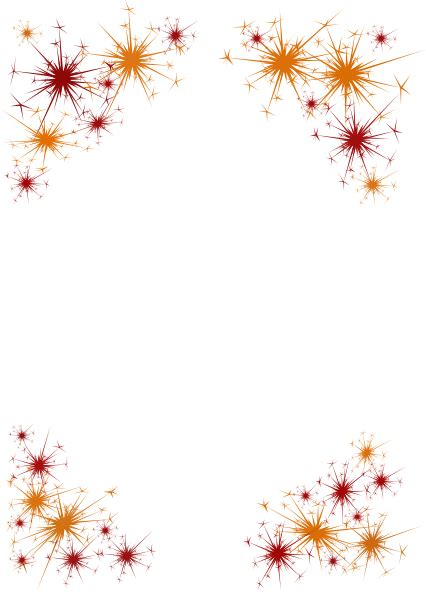 firework border clip art  clkercom vector clip art