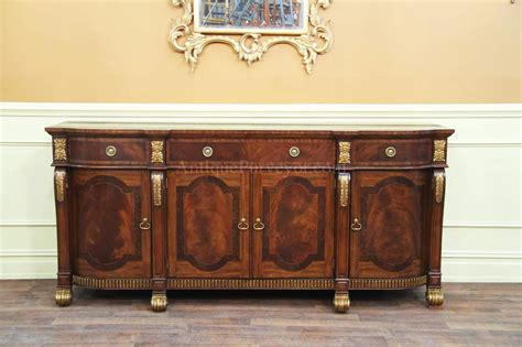 Maitland Smith Buffet Ls by Mahogany Sideboard With Gold Leaf Accents For The Dining Room