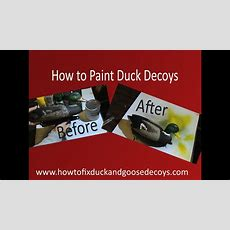 How To Paint Duck Decoys & Free Printable Instructions