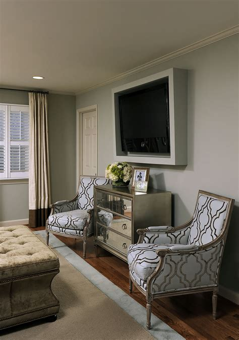 Tv In Bedroom Design Ideas great idea to frame out a flat screen tv kristin peake