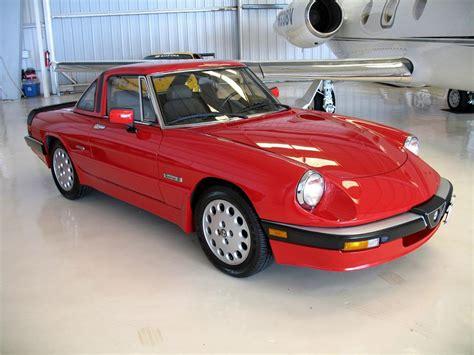 1986 Alfa Romeo Spider Convertible
