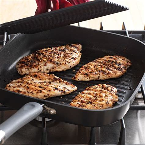 cooking chicken on a skillet how to cook chicken breast pered chef canada site