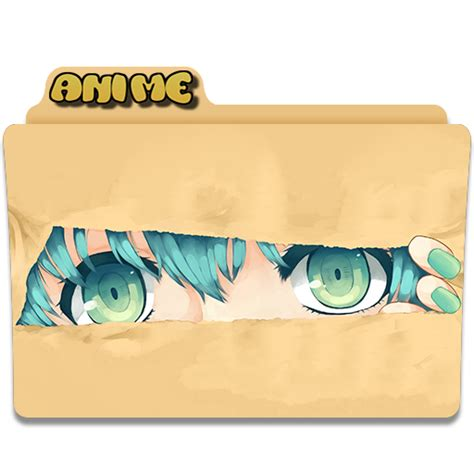 Anime Folder Icons Free Anime Folder Icons Png Vector Free Icons And Png
