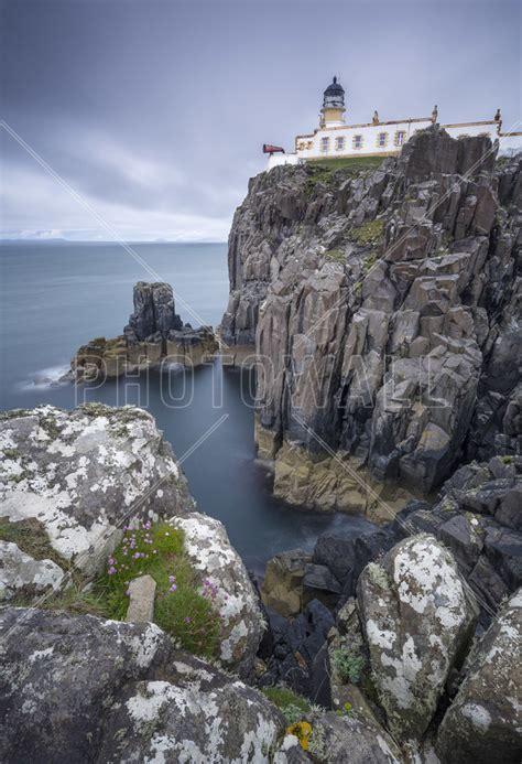 Lighthouse At Neist Point Isle Of Skye Scotland Wall
