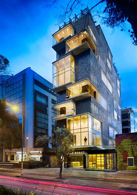 click clack hotel the modern place to stay when in bogota colombia freshome