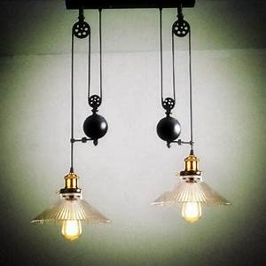 up down dining room vintage pulley lamp kitchen light With 5 lamp kitchen light