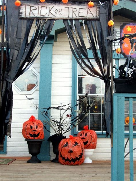 50 Best Images About Halloween Decorations Out Of Trash