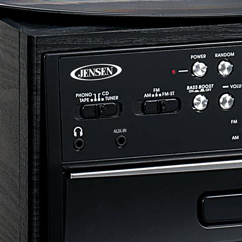 Jensen 4W CD Stereo System with Cassette, Turntable and AM ...