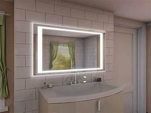 Beleuchtung Für Spiegel : badspiegel mit beleuchtung nj2 m402l4 design spiegel f r badezimmer beleuchtet mit led licht ~ Buech-reservation.com Haus und Dekorationen