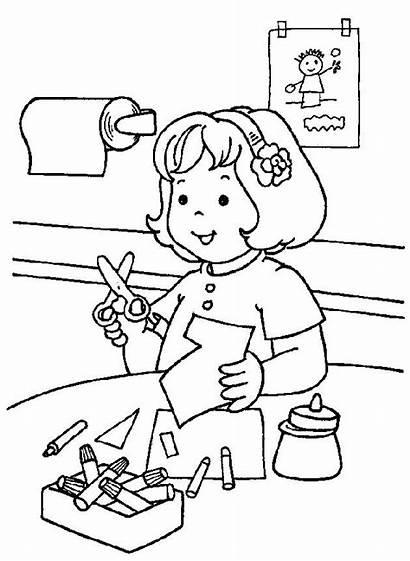 Coloring Kindergarten Pages Previus