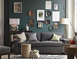 Graues Sofa Welche Wandfarbe : bilderrahmen dekorieren kreative wandgestaltung freshouse ~ Bigdaddyawards.com Haus und Dekorationen