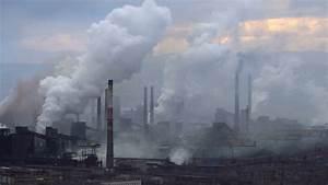 Chimney Smoke Background Factory Smoke Stock Footage Video ...