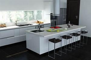 les 25 meilleures idees de la categorie cuisine laquee sur With plan de maison design 9 renovation cuisine contemporaine et douce dans maison