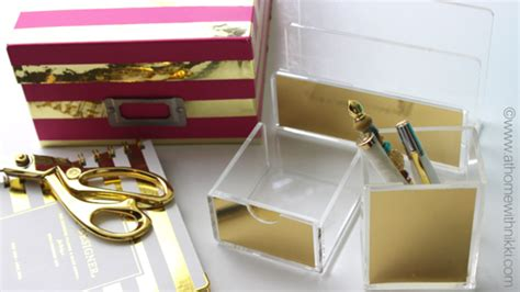 kate spade desk accessories kate spade inspired diy office accessories at home with