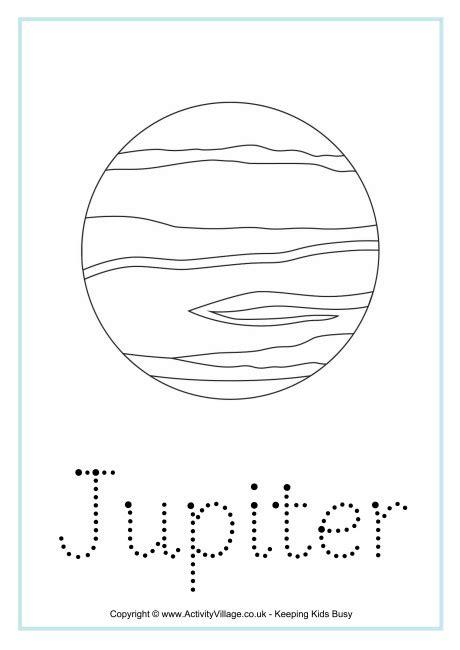 jupiter planet worksheet jupiter word tracing