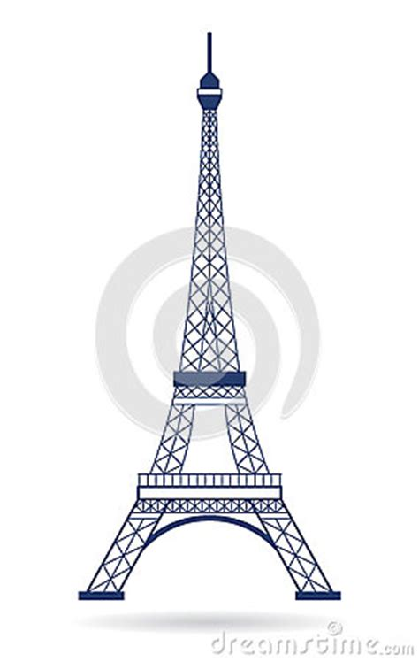 eiffel tower logo graphic royalty  stock images