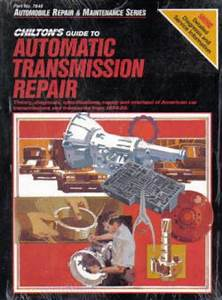 Guide To Automatic Transmission Repair