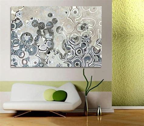 peinture murale chambre adulte tableau contemporain accent dans l intérieur moderne