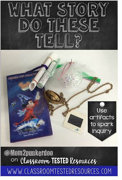 Personal Artifacts Classroom Spark Activity Inquiry Creative
