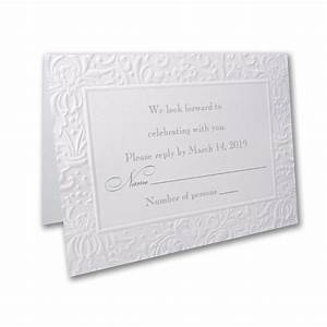 embossed simplicity rsvp envelope little flamingo With embossed wedding invitations australia