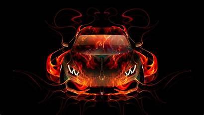 Lamborghini Fire Abstract Wallpapers Huracan Tony El