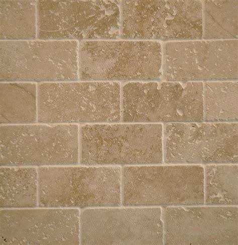 tumbled marble tile home interior master bath