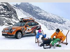 BMW K2 Powder Ride und X1 Edition Powder Ride Bilder